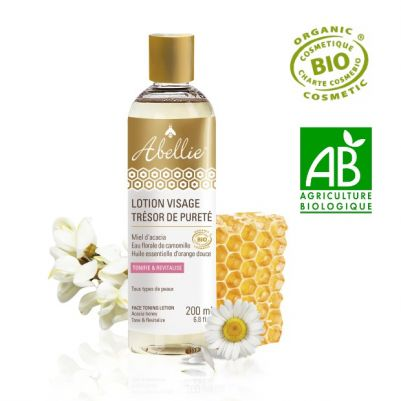 Abellie Organic Toning Lotion 200ml